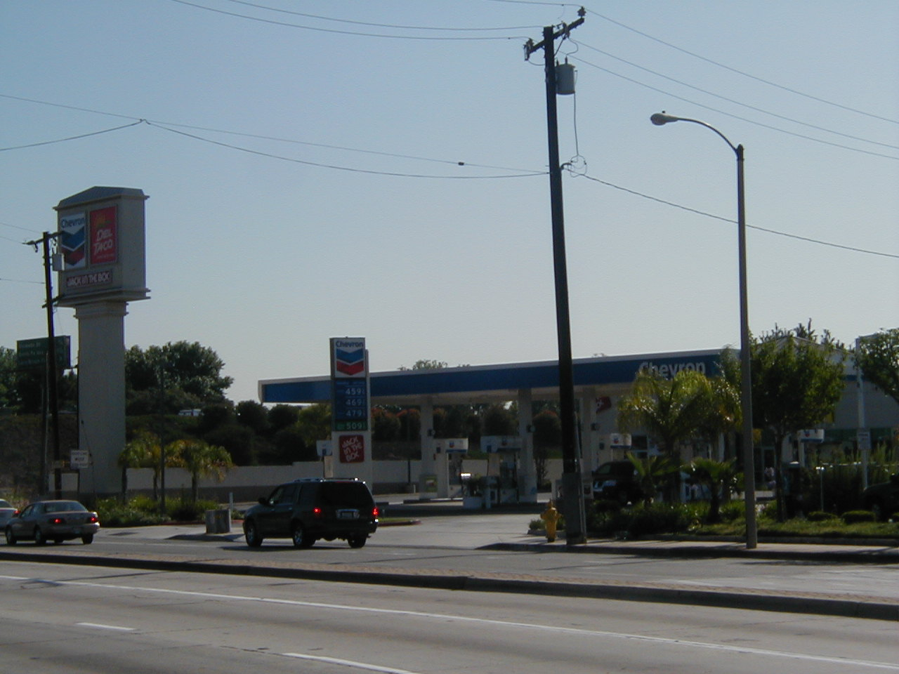 City of Carson Gas Station Locations