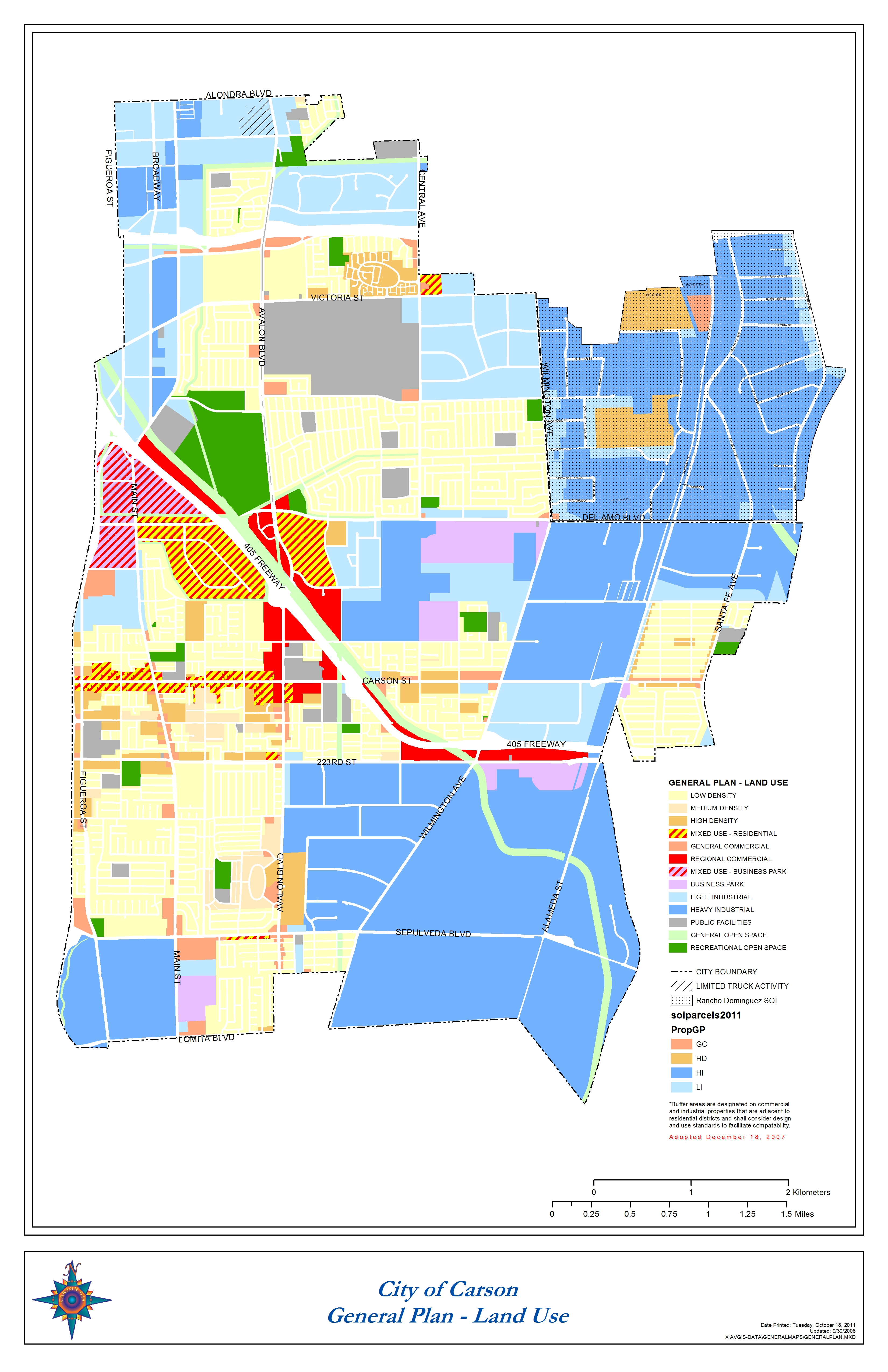 Map Gallery - Los angeles county map pdf