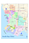 South Bay Cities Map