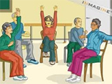 Stroke Center - Chair Exercise