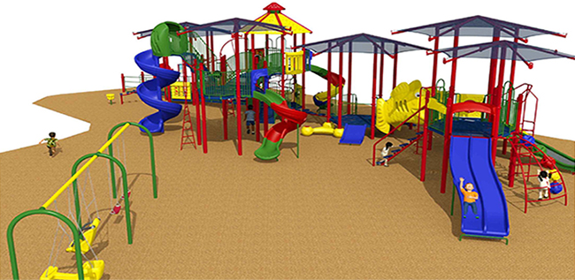 New Dolphin Park Playground