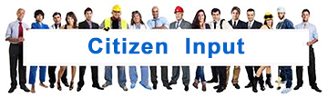 Citizen Input - Click to Report an issue