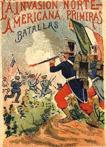 Mexican War Poster