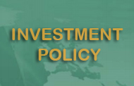 Treasurer Investment Policy